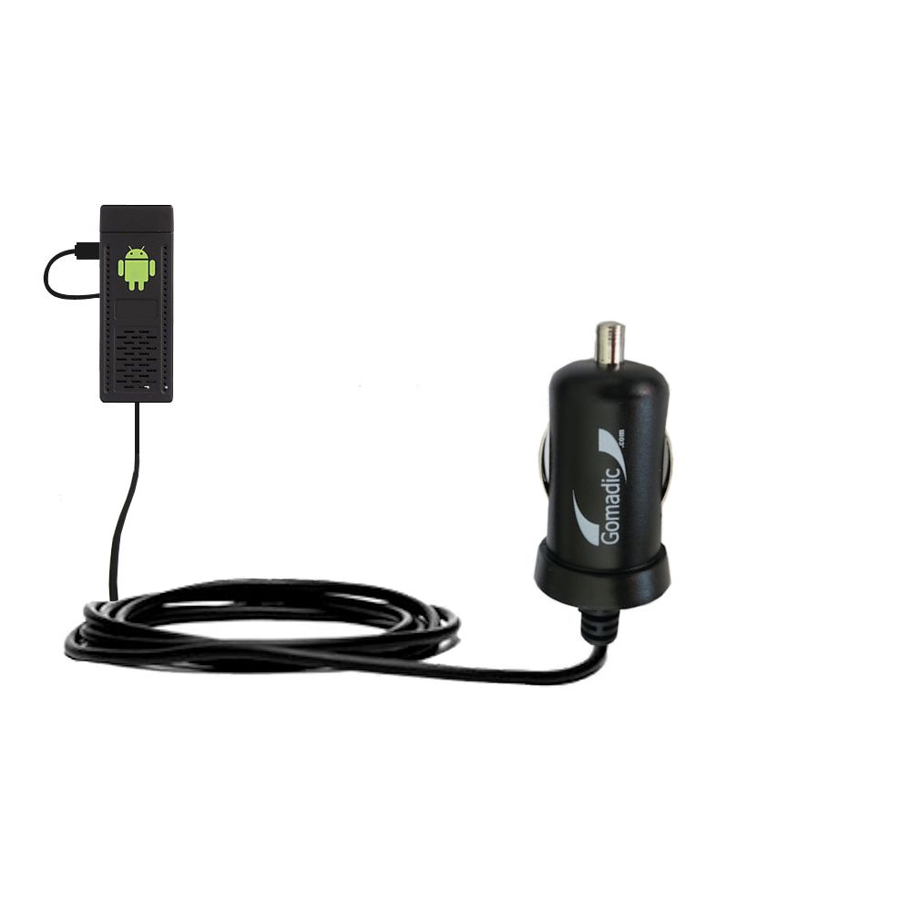 Mini Car Charger compatible with the Android UG802 Mini PC
