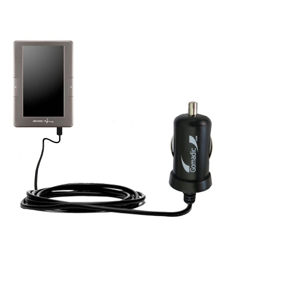 Mini Car Charger compatible with the Archos 70c eReader