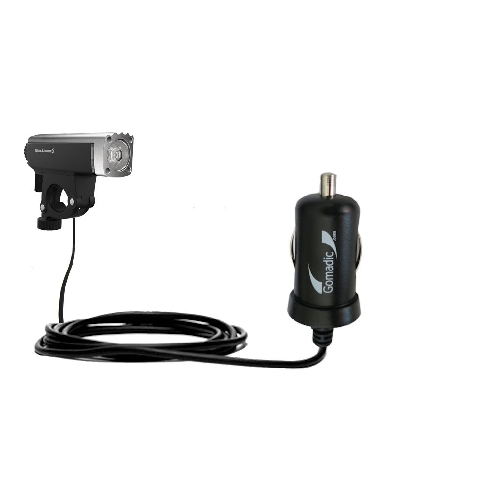 Mini Car Charger compatible with the Blackburn Central Front