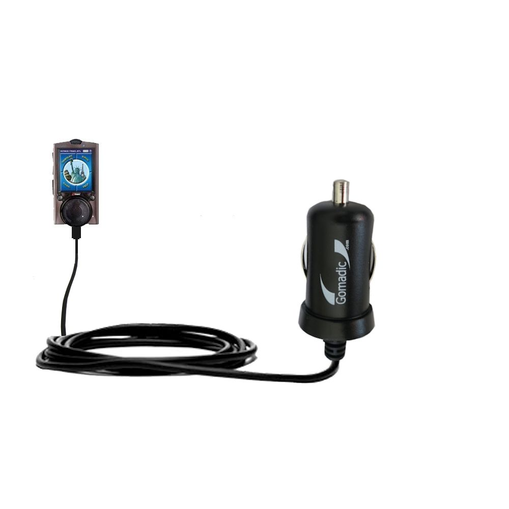 Mini Car Charger compatible with the ECTACO iTRAVL Series