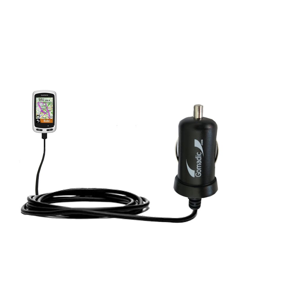 Mini Car Charger compatible with the Garmin EDGE Touring