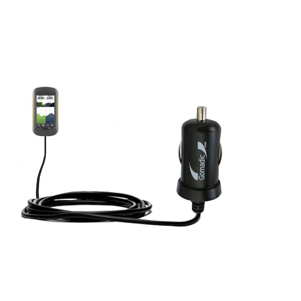Mini Car Charger compatible with the Garmin Montana 600 650 650t