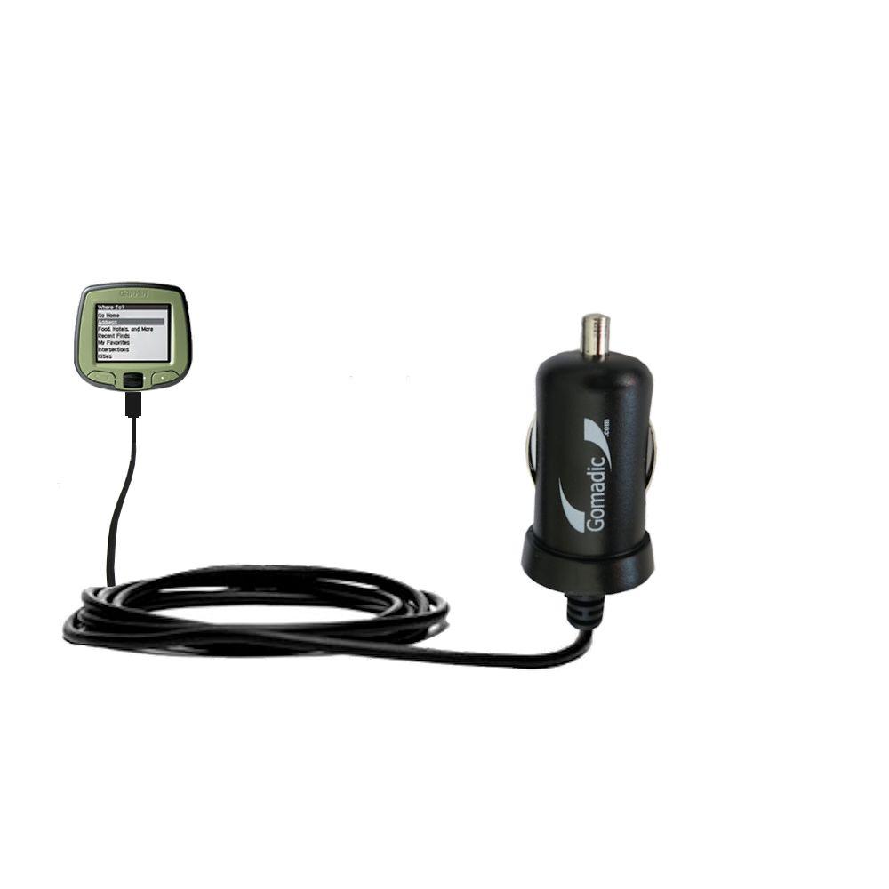 Mini Car Charger compatible with the Garmin StreetPilot i2 i3 i5