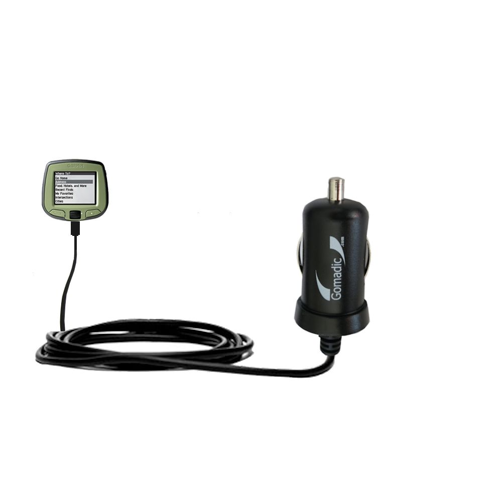Mini Car Charger compatible with the Garmin StreetPilot i5