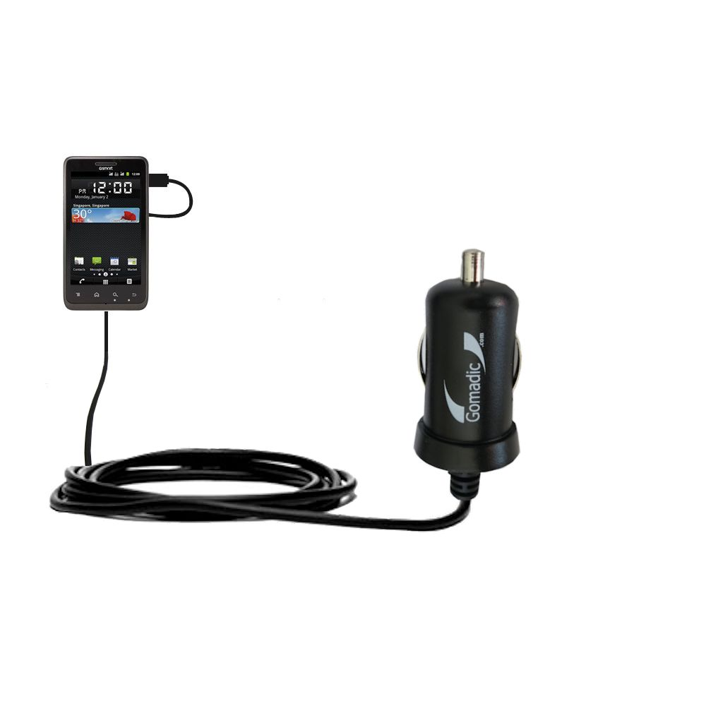 USB Power Port Ready retractable USB charge USB cable wired specifically for the Gigabyte GSmart G1355 and uses TipExchange