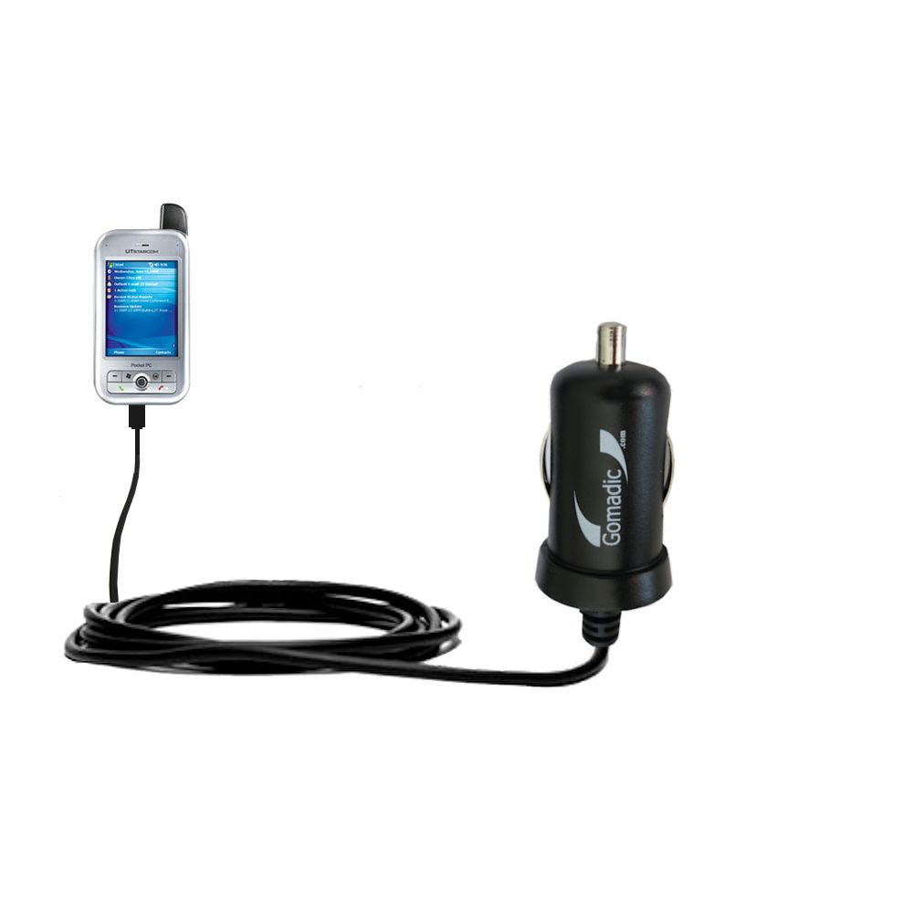 Mini Car Charger compatible with the HTC 6700Q Qwest