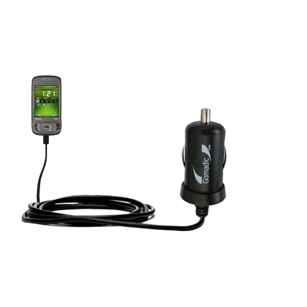Mini Car Charger compatible with the HTC 8925
