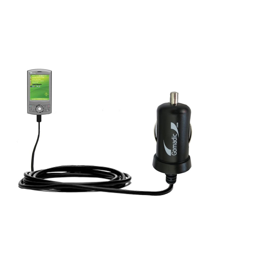 Mini Car Charger compatible with the HTC Artemis