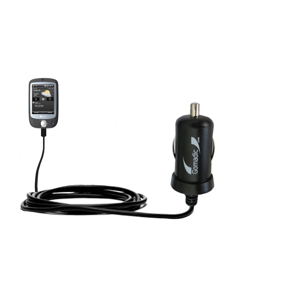 Mini Car Charger compatible with the HTC ELF