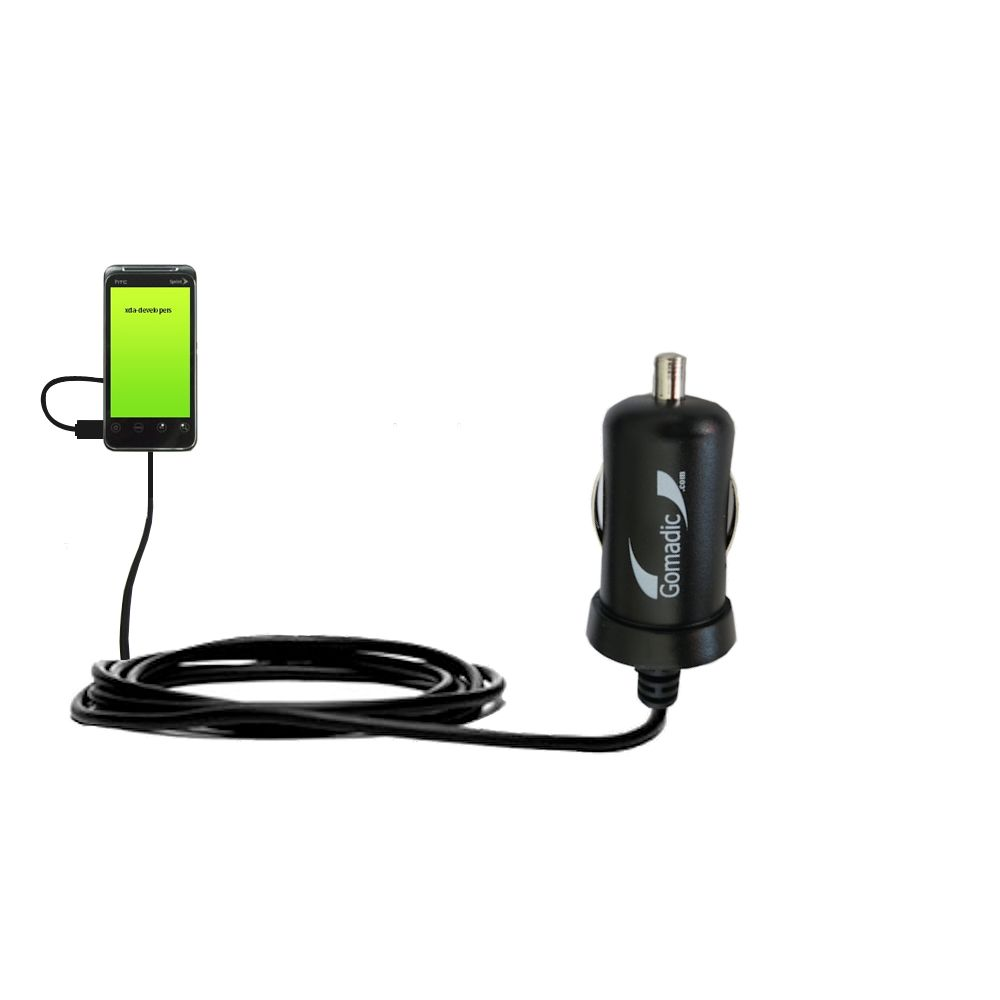 Mini Car Charger compatible with the HTC Knight
