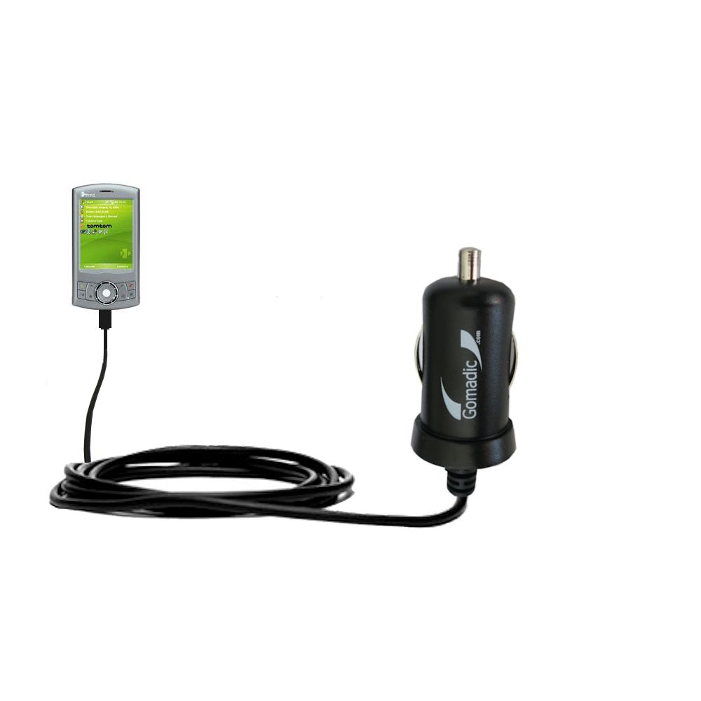 Mini Car Charger compatible with the HTC P3350