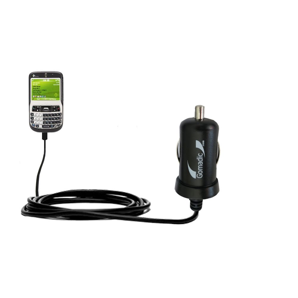 Mini Car Charger compatible with the HTC S620 S620c