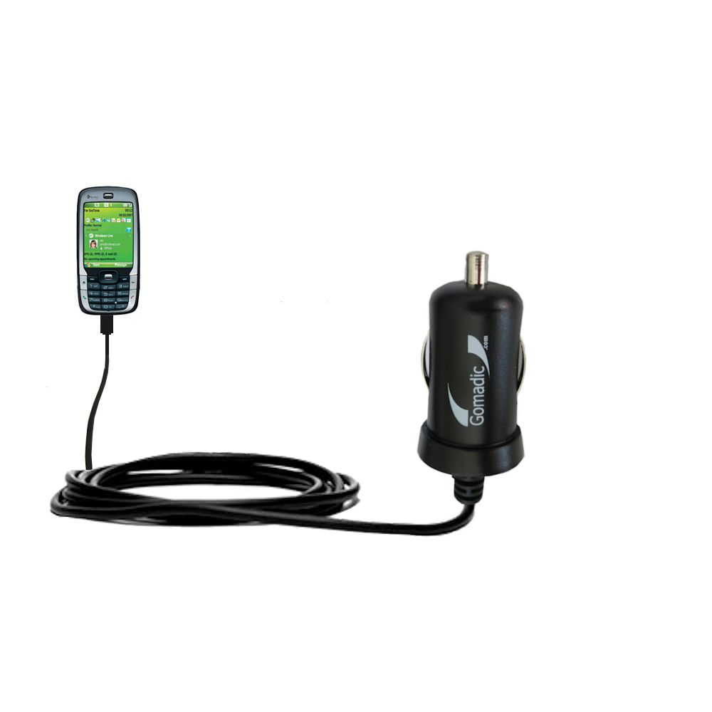 Mini Car Charger compatible with the HTC S710
