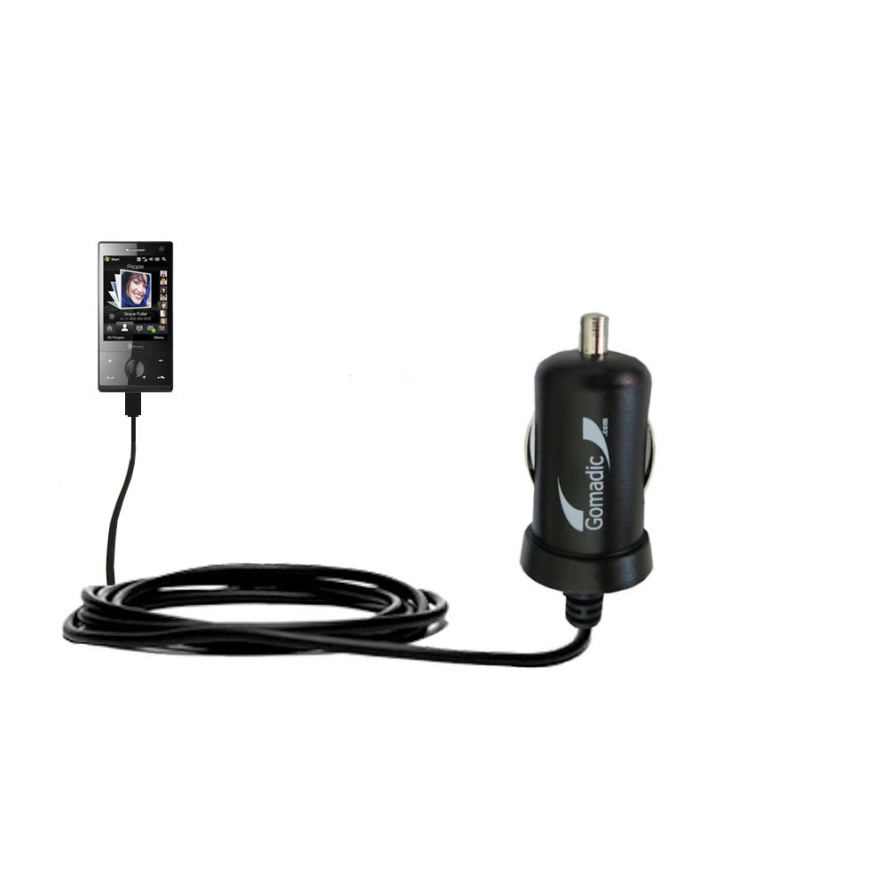Mini Car Charger compatible with the HTC Touch Diamond