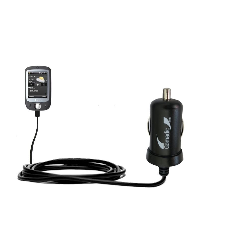Mini Car Charger compatible with the HTC VOGUE