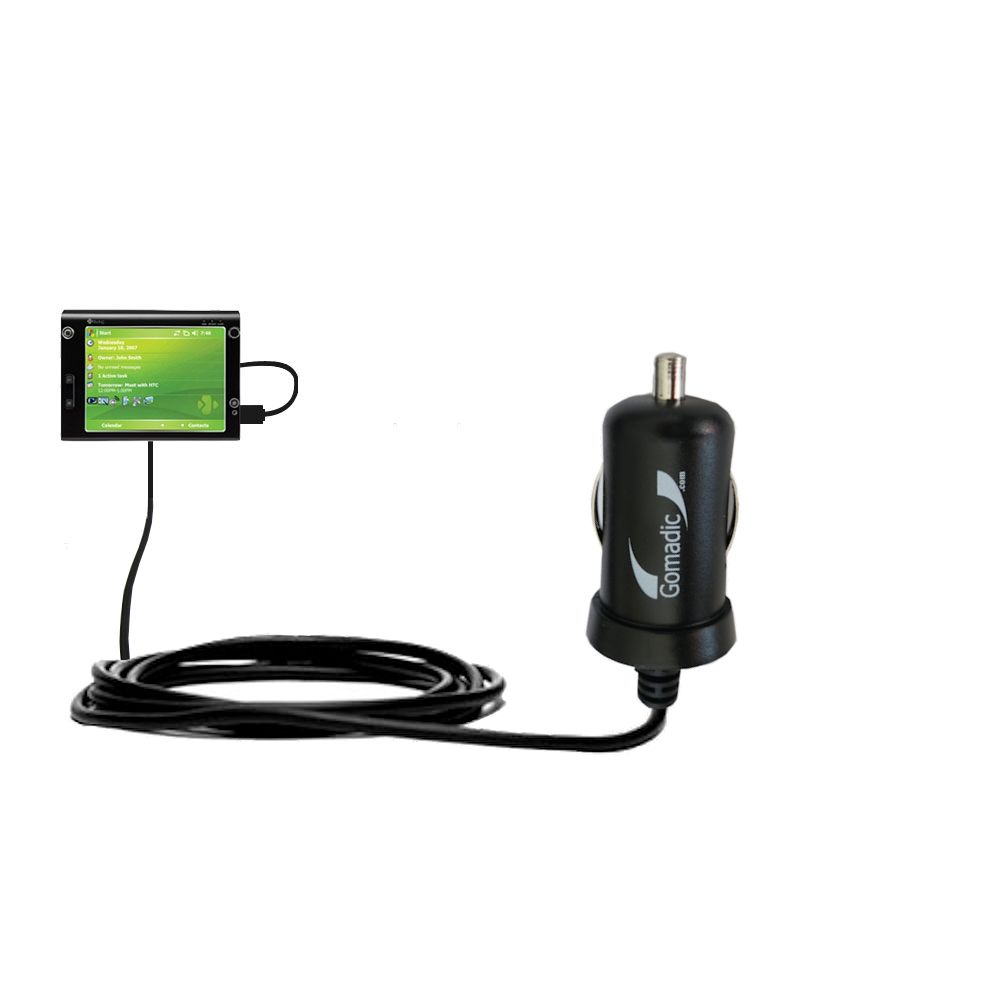 Mini Car Charger compatible with the HTC X7500