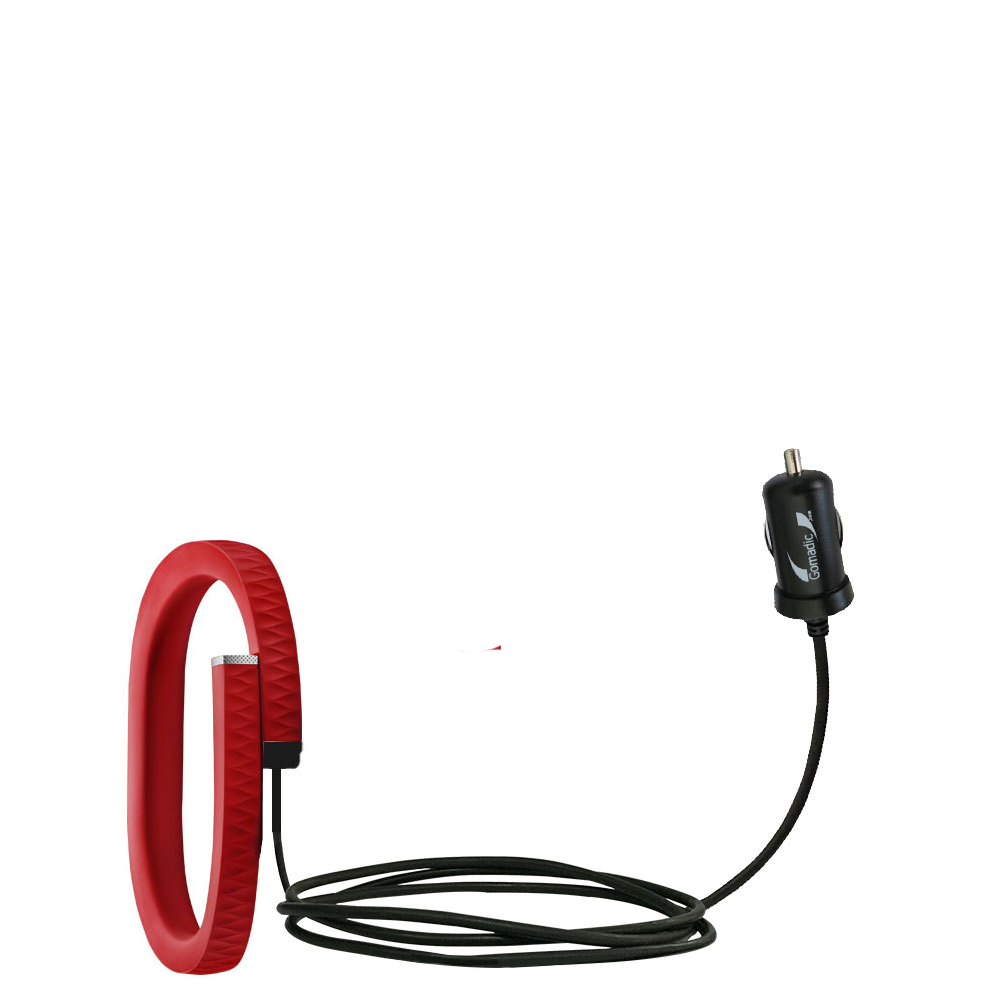 Mini Car Charger compatible with the Jawbone UP