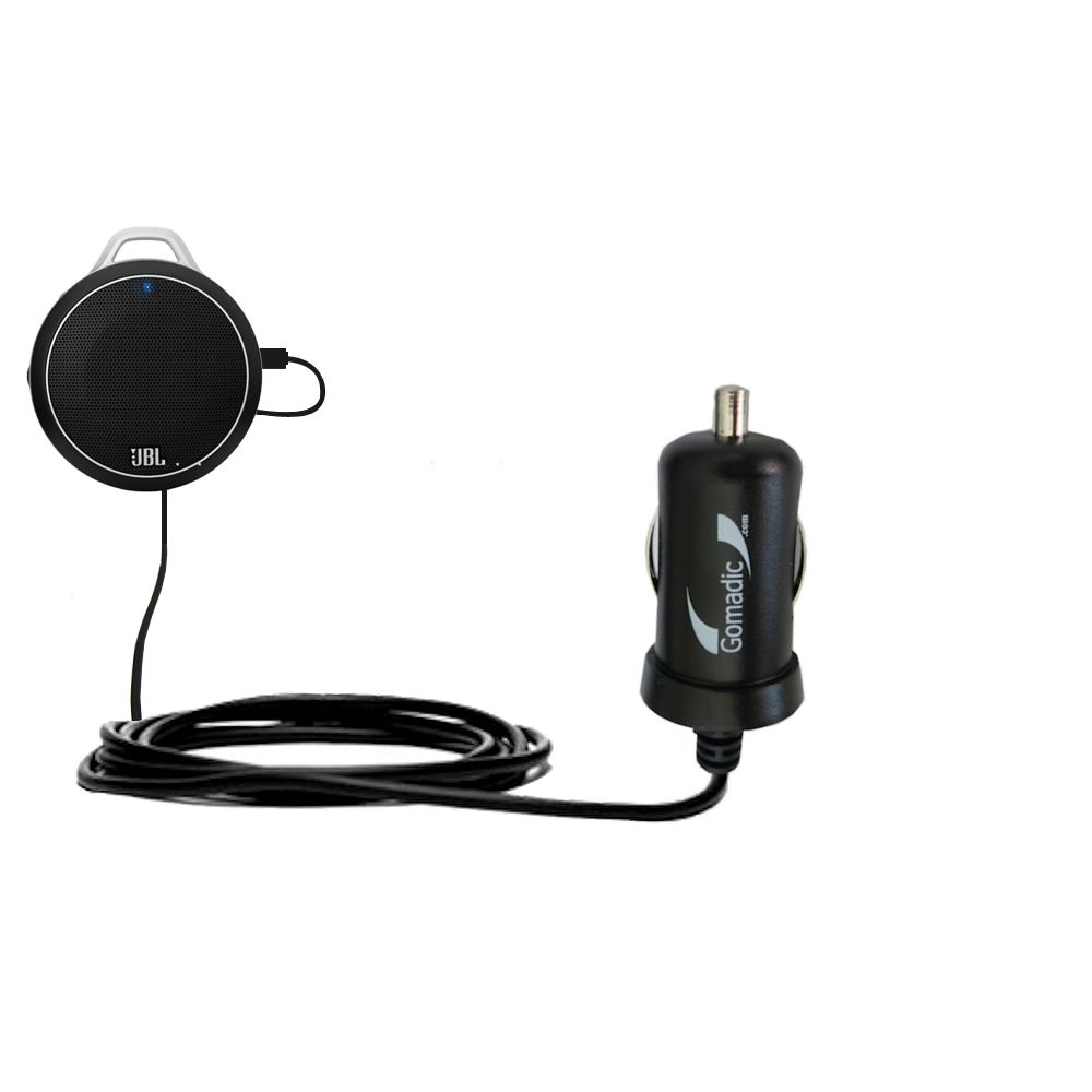 Mini Car Charger compatible with the JBL Charge Micro