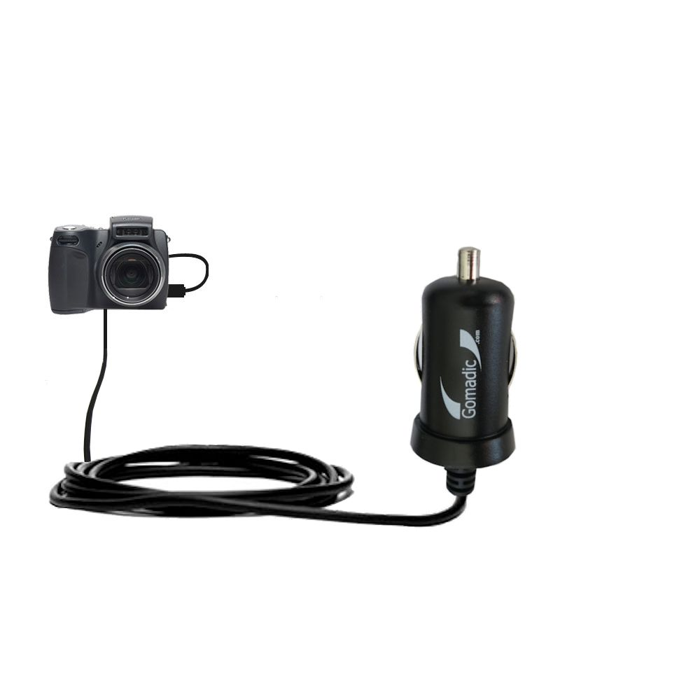 Mini Car Charger compatible with the Kodak DX6490