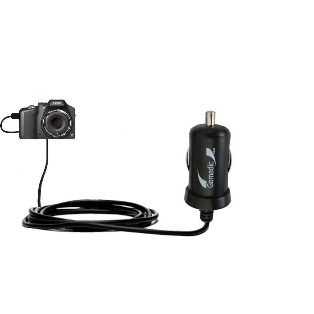 Mini Car Charger compatible with the Kodak EasyShare Max