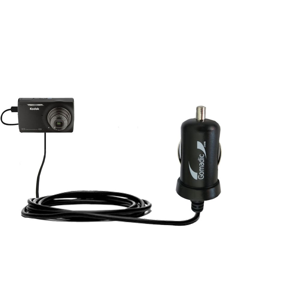 Mini Car Charger compatible with the Kodak M1093 IS