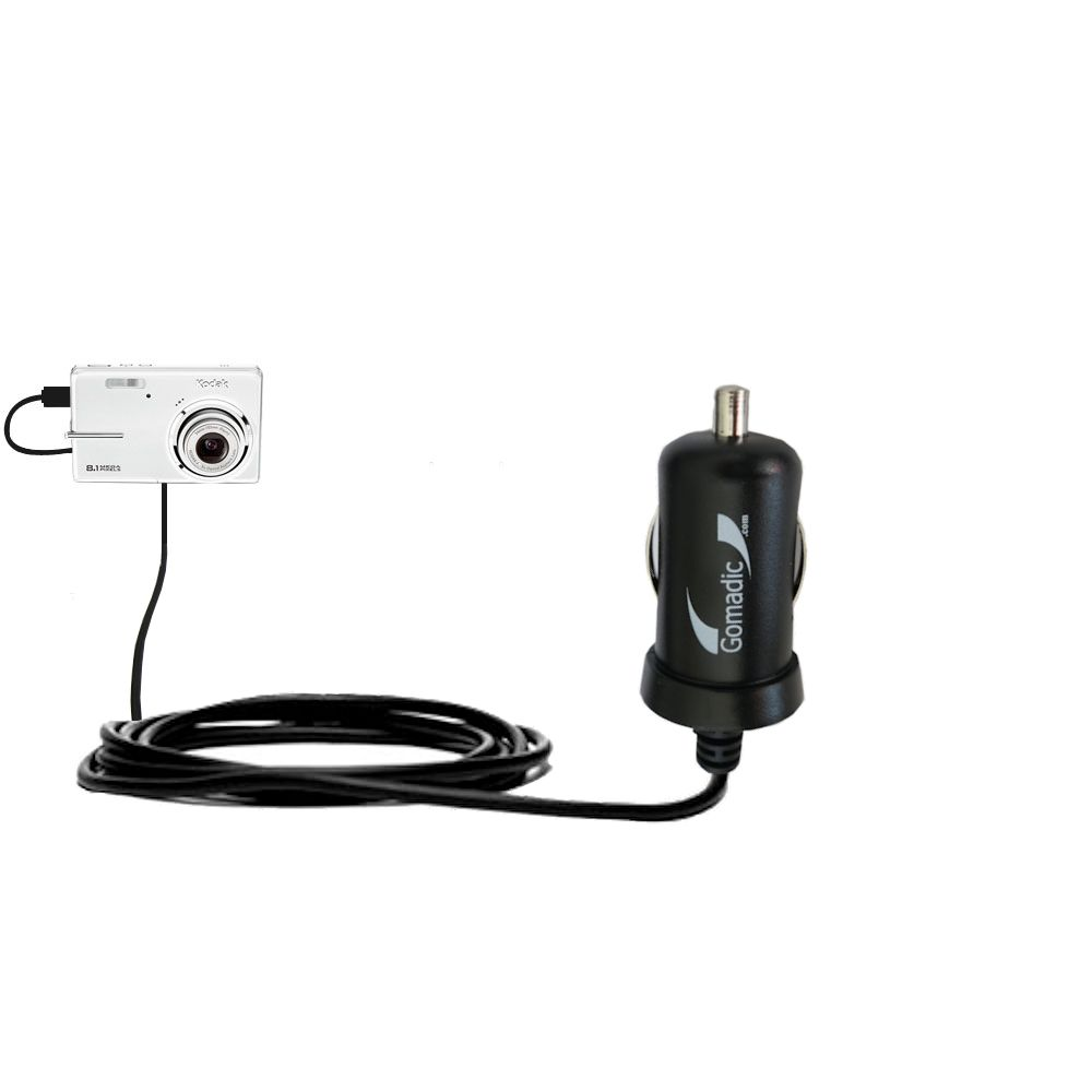 Mini Car Charger compatible with the Kodak M893 IS