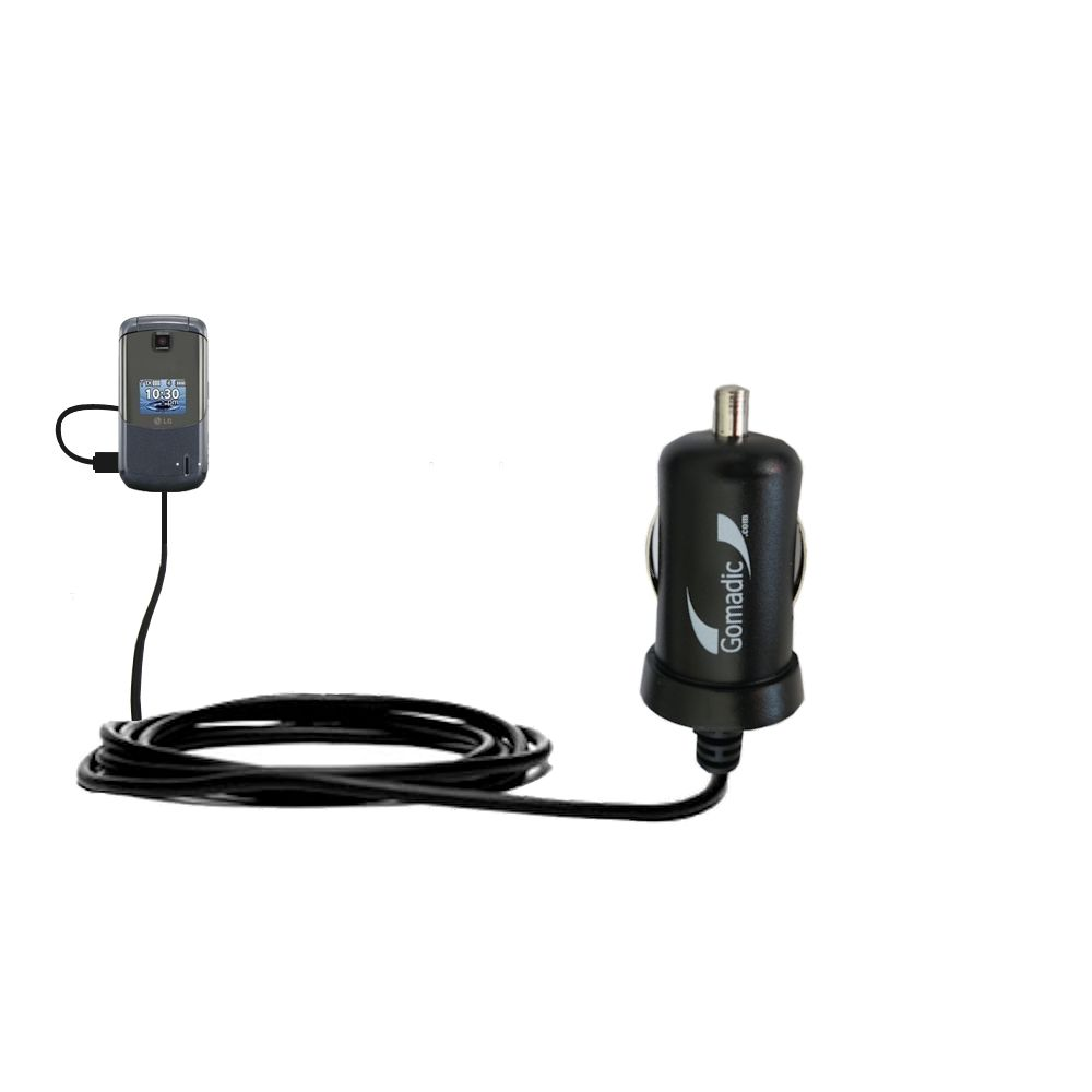 Mini Car Charger compatible with the LG Accolade