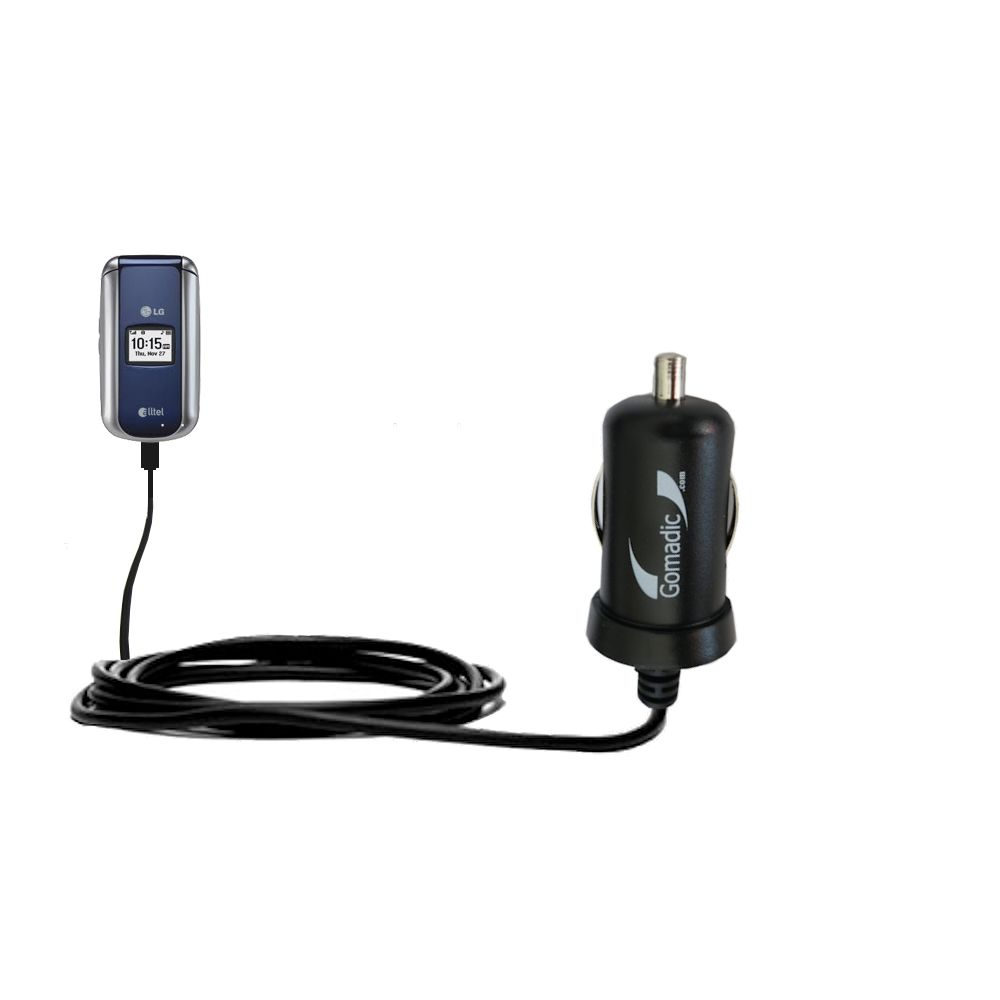 Mini Car Charger compatible with the LG AX155