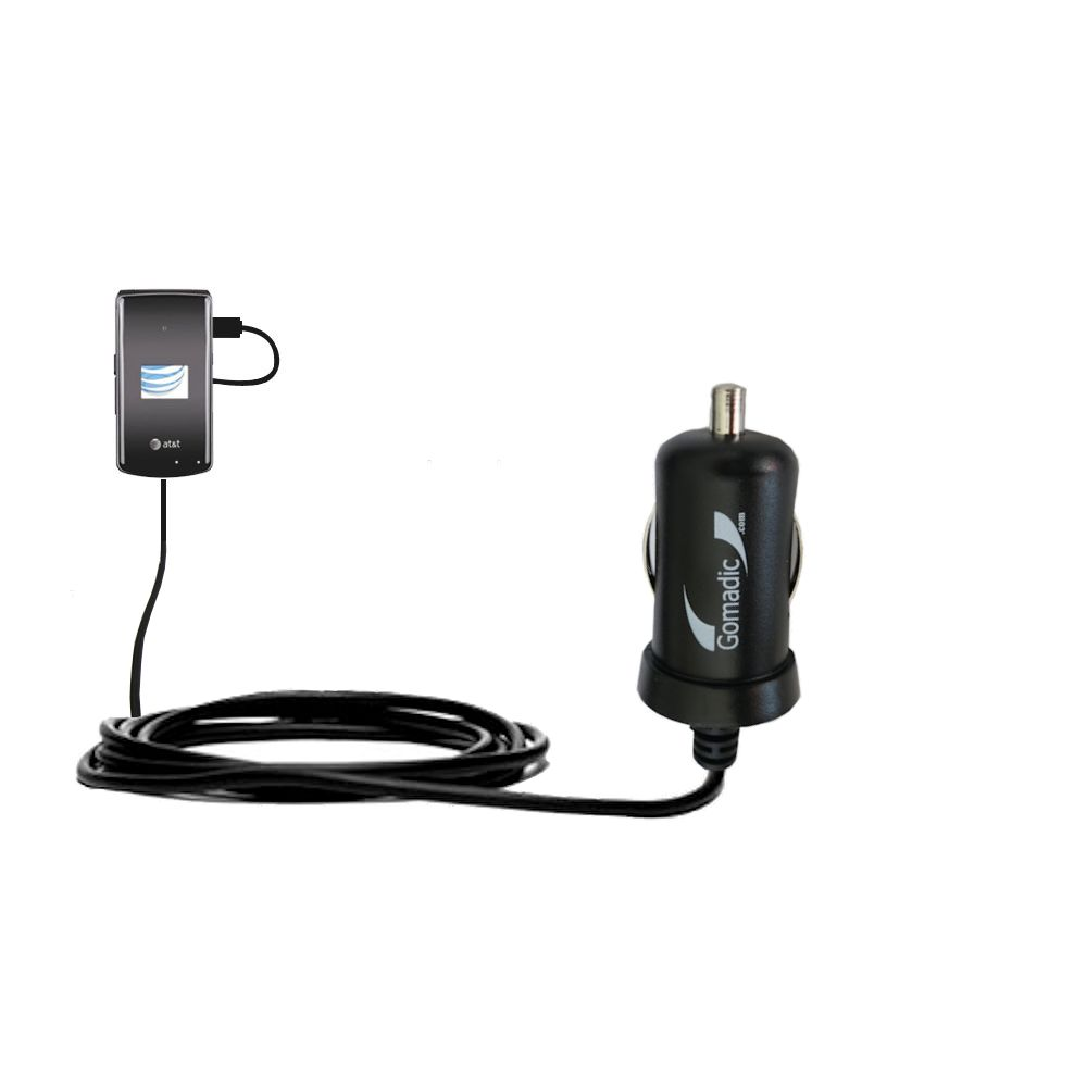 Mini Car Charger compatible with the LG CU515