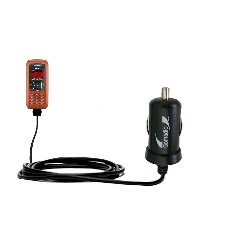 Mini Car Charger compatible with the LG EnV