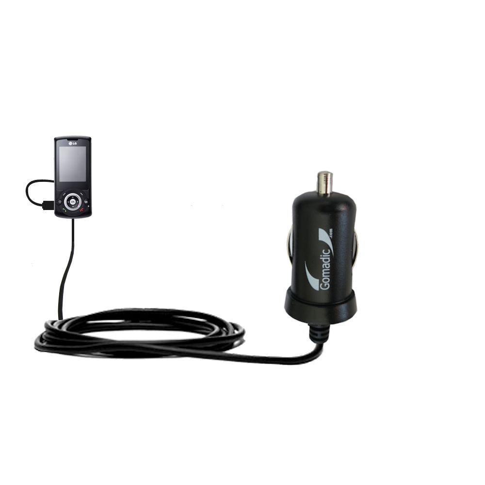 Mini Car Charger compatible with the LG GB130