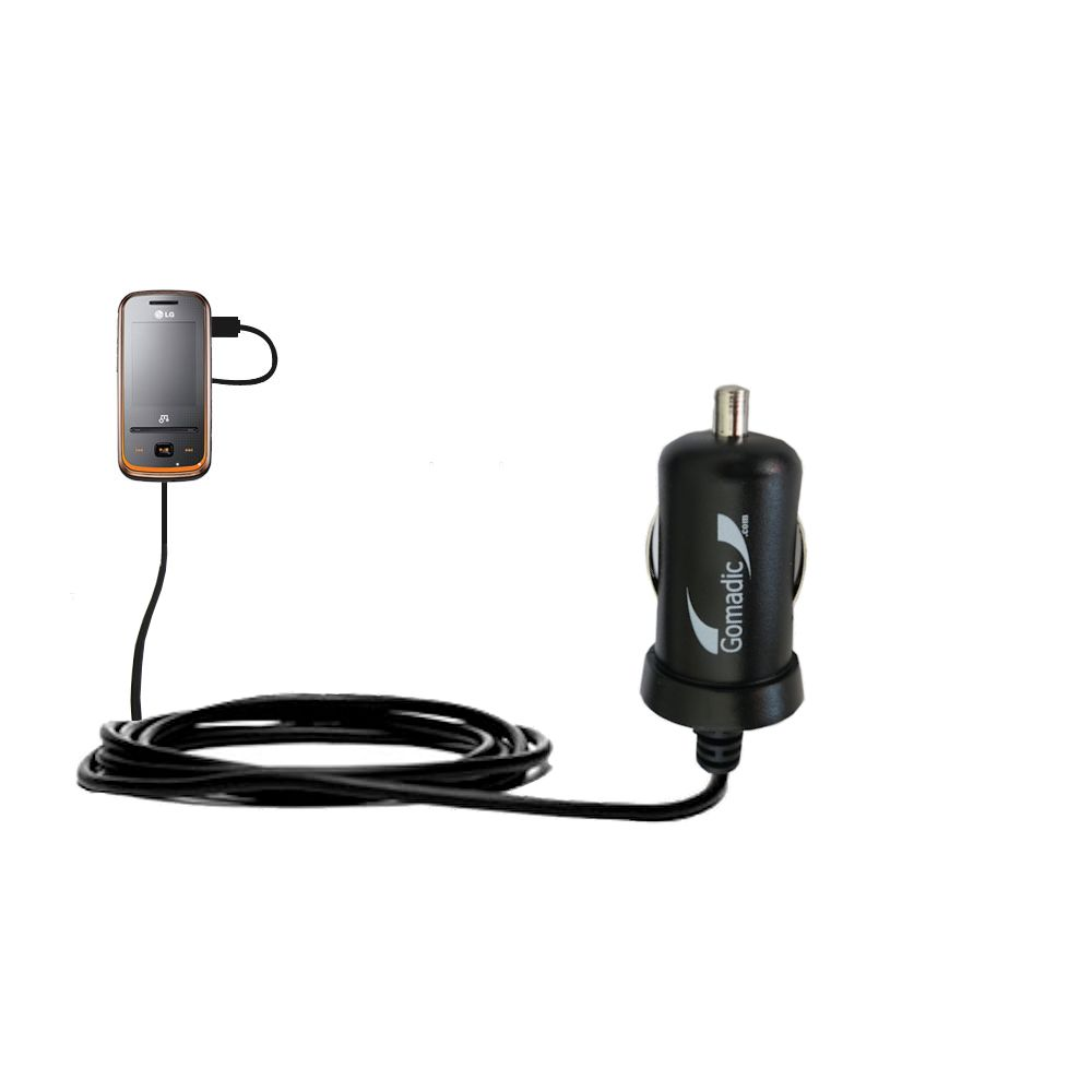 Mini Car Charger compatible with the LG GM310