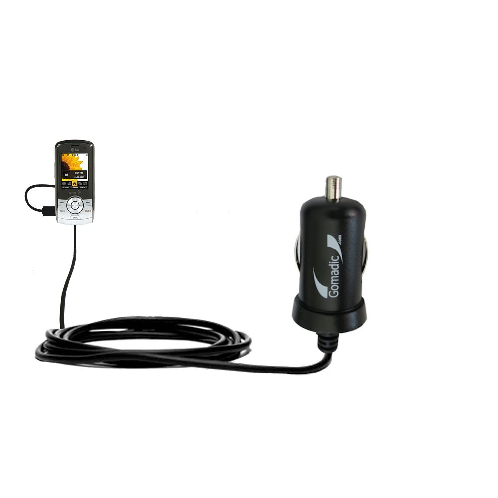 Mini Car Charger compatible with the LG LX370