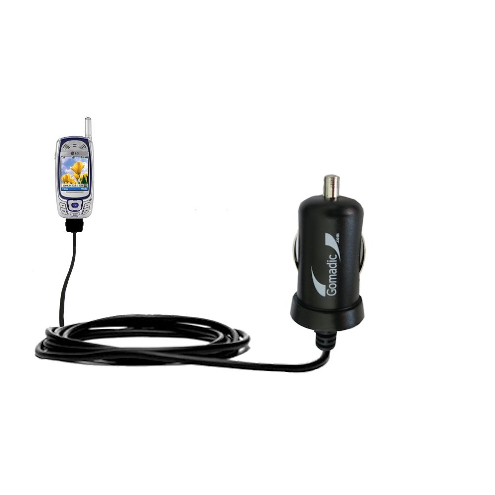 Mini Car Charger compatible with the LG MM-535