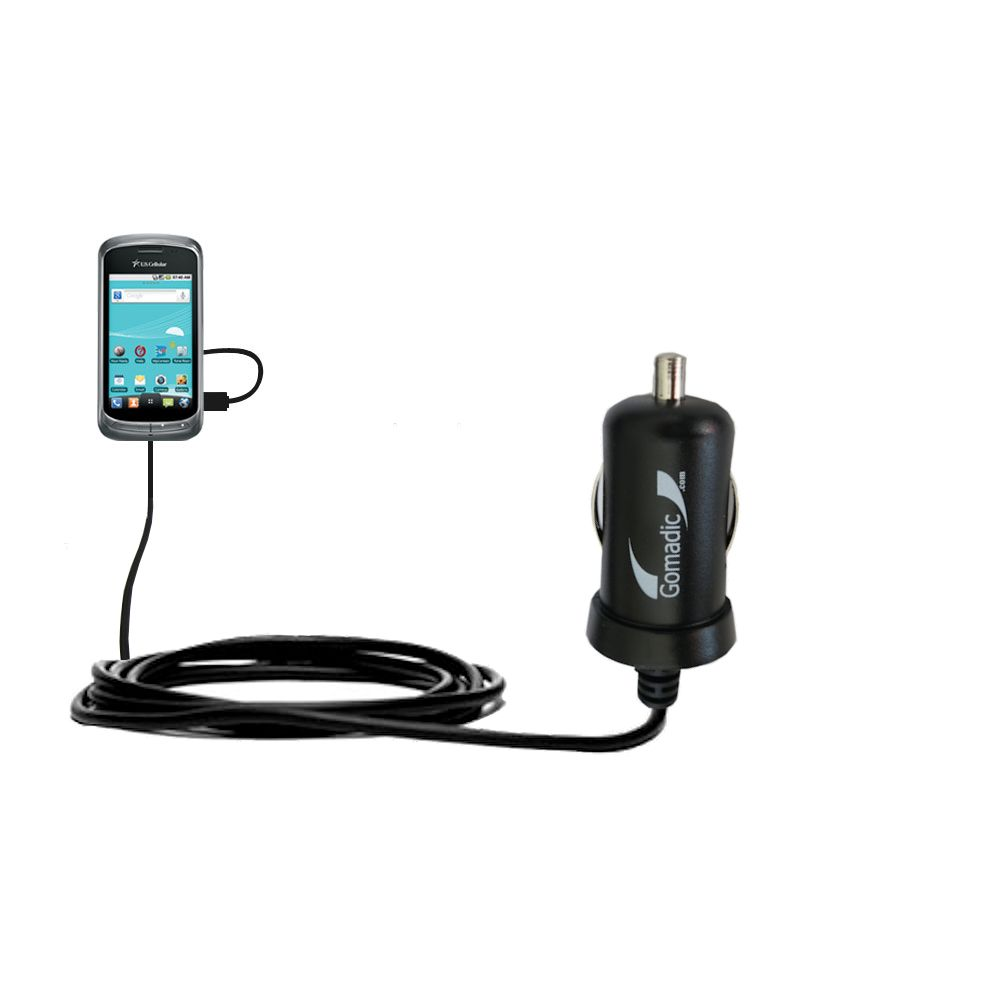 Mini Car Charger compatible with the LG US760