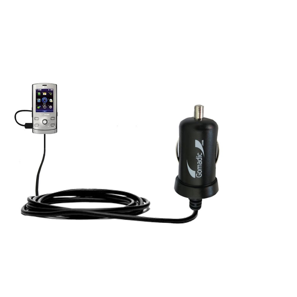 Mini Car Charger compatible with the LG VX8610
