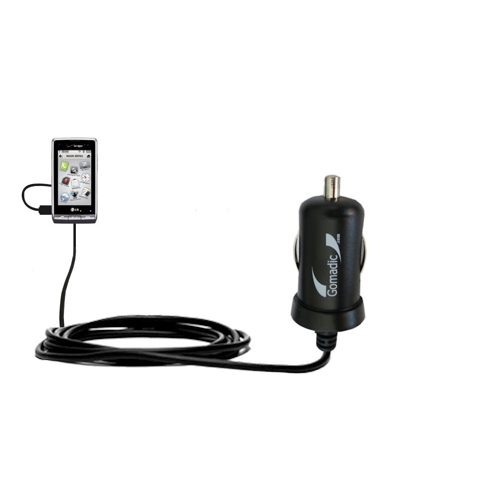 Mini Car Charger compatible with the LG VX9700