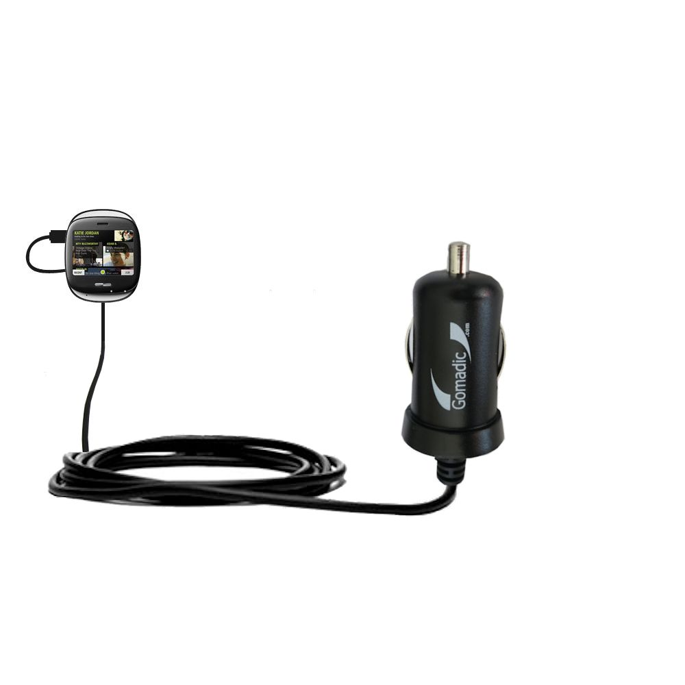 Mini Car Charger compatible with the Microsoft  KIN ONE / KIN 1