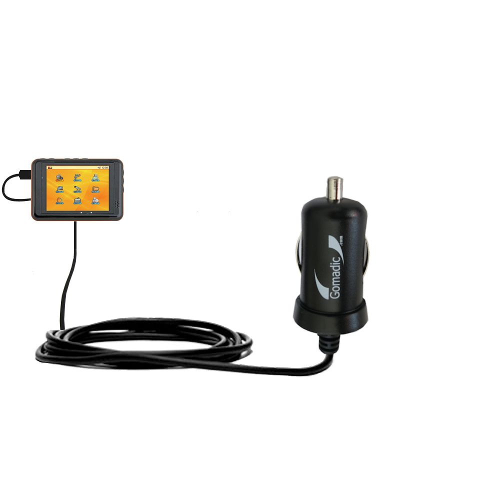 Mini Car Charger compatible with the Nextar T30
