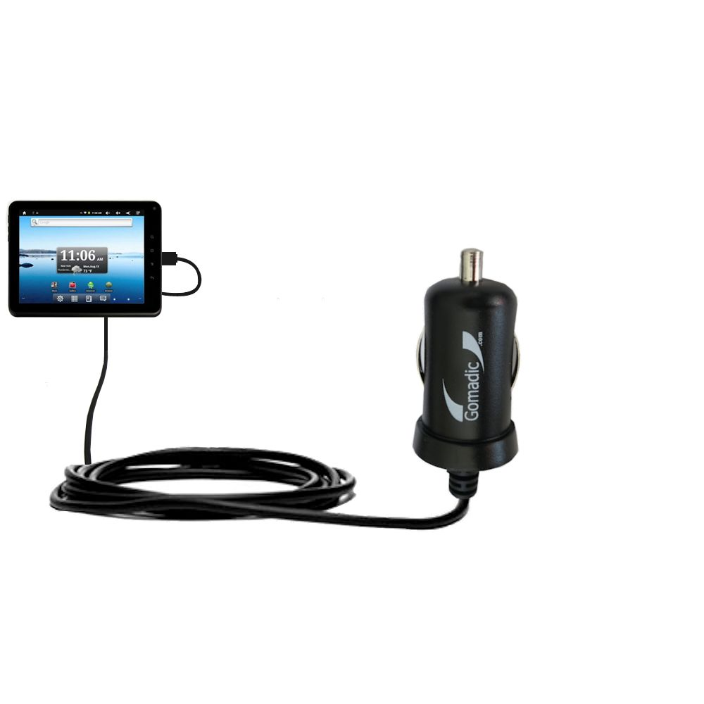 Mini Car Charger compatible with the Nextbook Premium8 Tablet