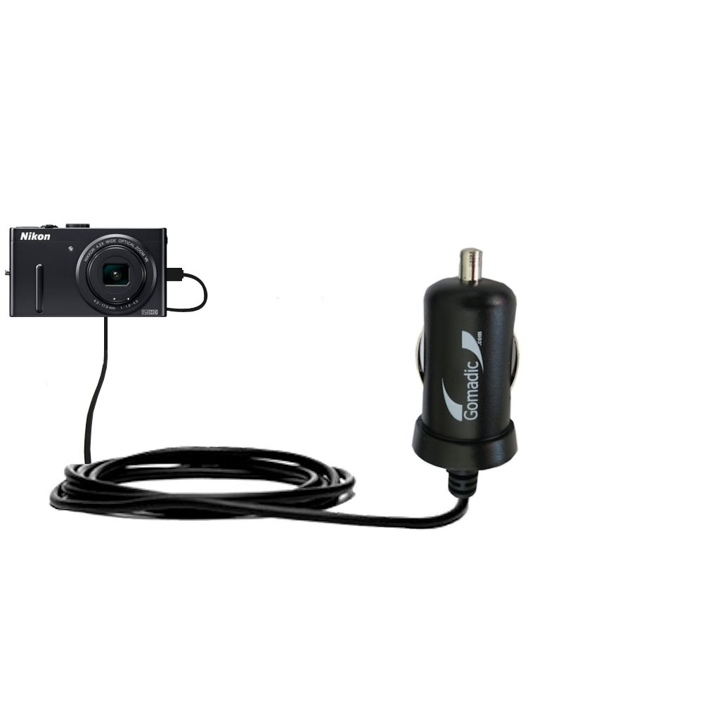 Designed TipExchange Gomadic Global Home Wall AC Charger Designed for The Nikon Coolpix P300 with Power Sleep Technology Supports Worldwide Wall outlets and Voltage Levels