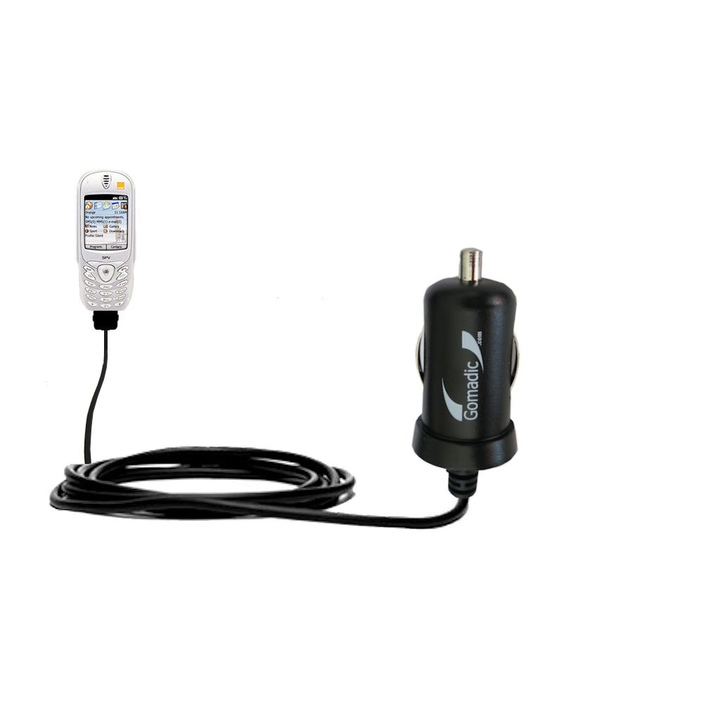 Mini Car Charger compatible with the Orange SPV Smartphone