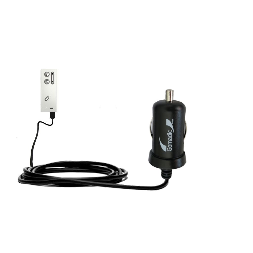 Mini Car Charger compatible with the Oticon Streamer
