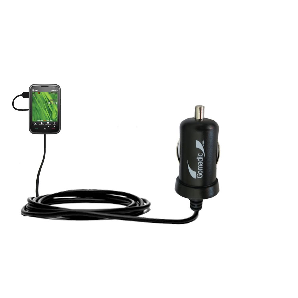 Mini Car Charger compatible with the Pantech Renue