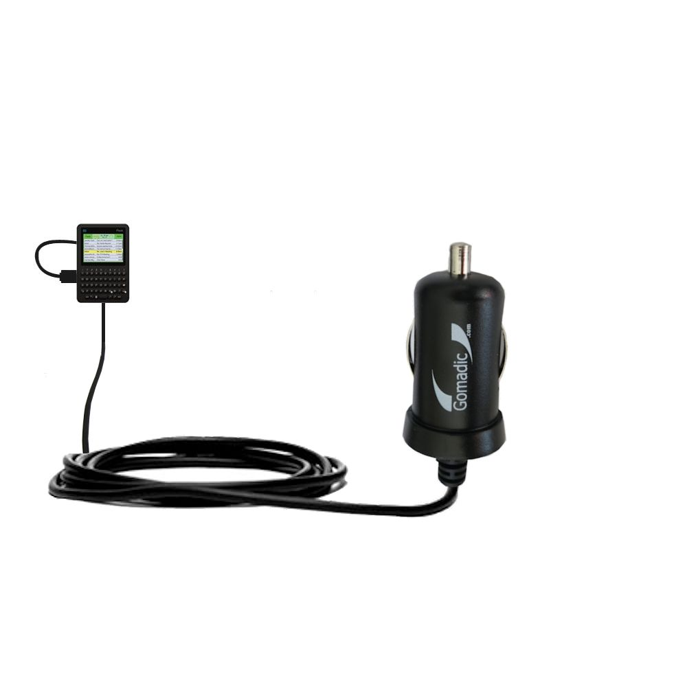 Mini Car Charger compatible with the Peek GetPeek Pronto
