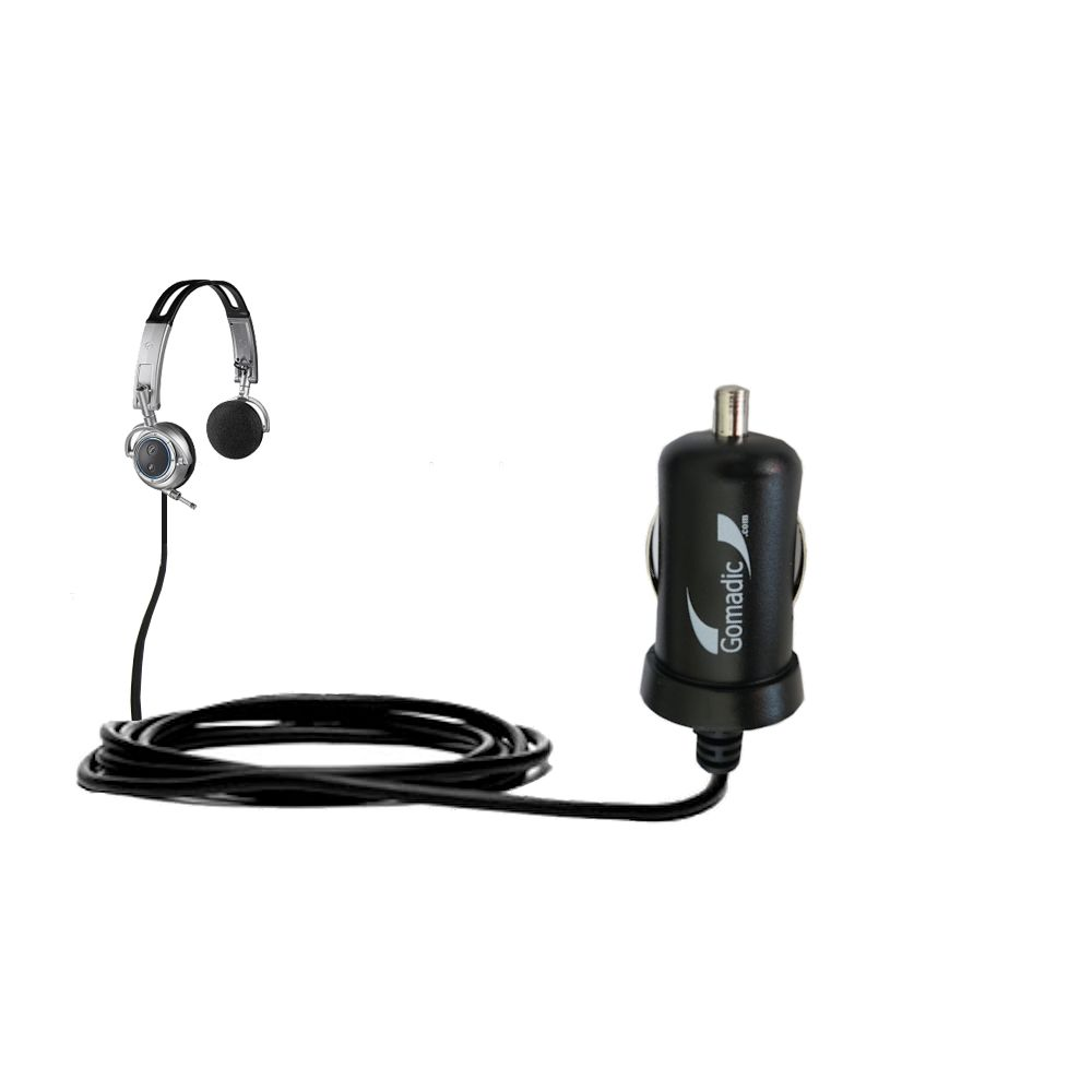 Mini Car Charger compatible with the Plantronics Pulsar 590E