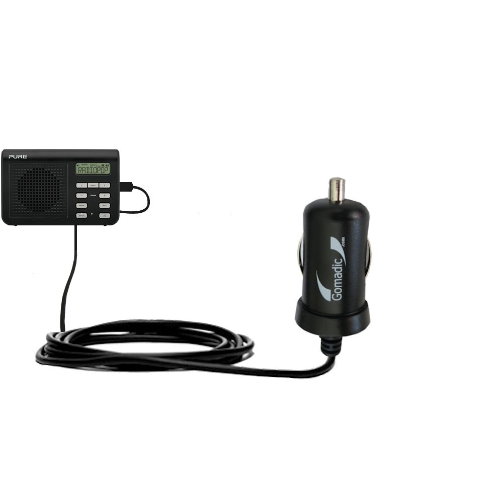 Mini Car Charger compatible with the PURE One Mi Series 2
