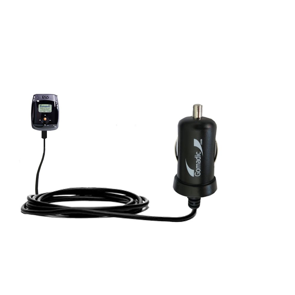 Mini Car Charger compatible with the Rio Nitrus