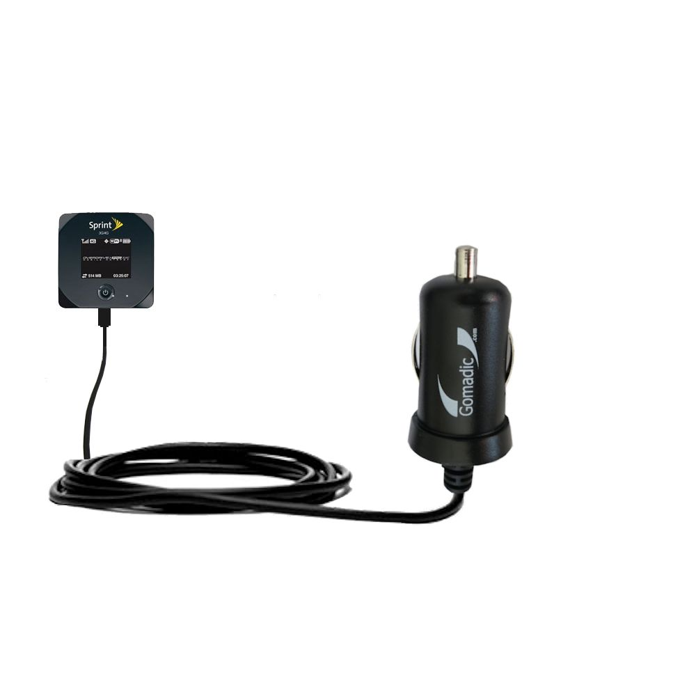 Mini Car Charger compatible with the Sierra Wireless 802S Mobile Hotspot