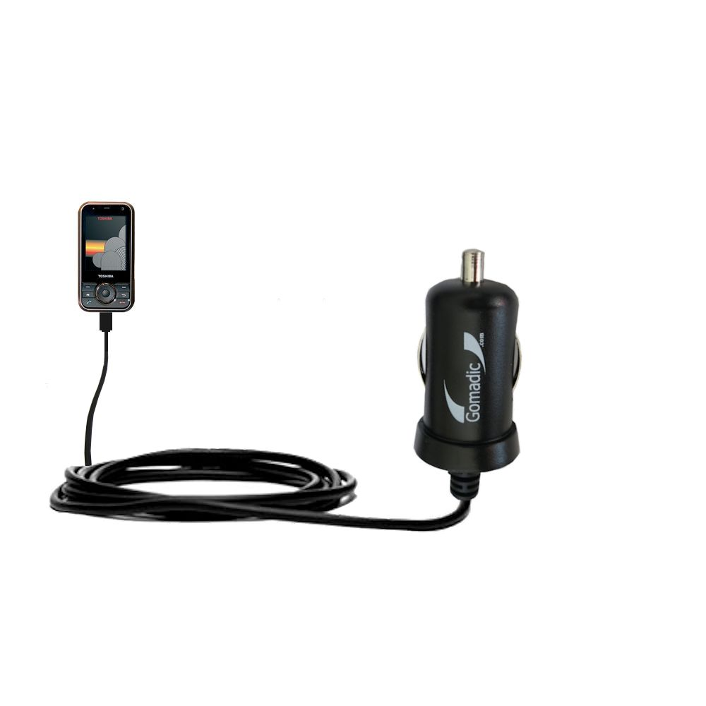 Mini Car Charger compatible with the Toshiba G500